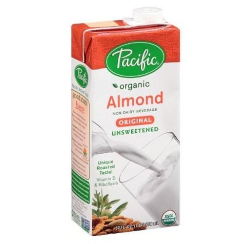 Pacific Organic Unsweetened Almond Milk - 32oz