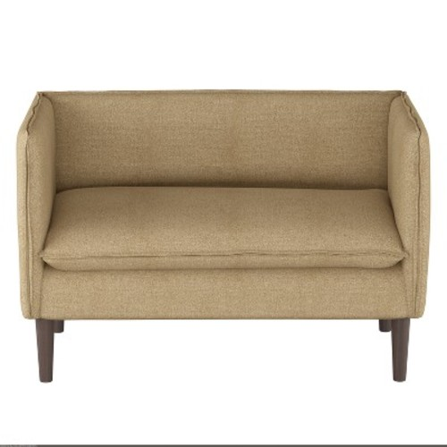 Textured French Solid Seam Settee - Project 62