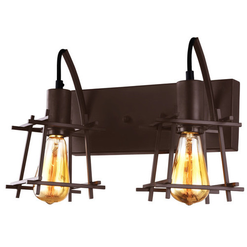 Varaluz Hashtag 2 light New Bronze Vanity