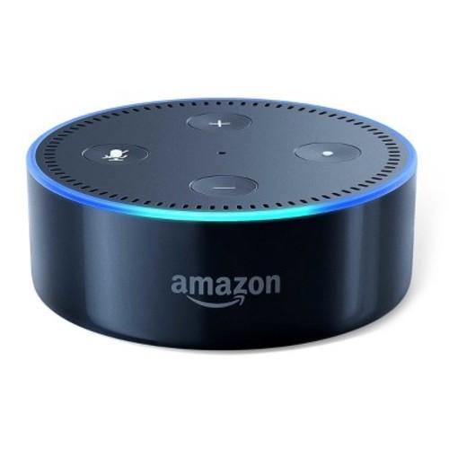 Amazon - Echo Dot (2nd Generation) - Black