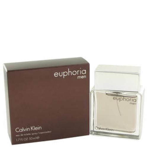 Calvin Klein Eau De Toilette Spray 1.7 Oz Euphoria Cologne By Calvin Klein For Men