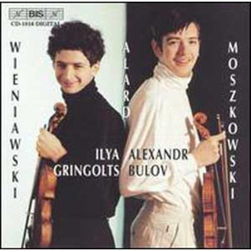 Ilya Gringolts & Alexander Bulov play Henryk Wieniawski, Jean-Delphin Alard & Moritz Moskowski (Audio CD)
