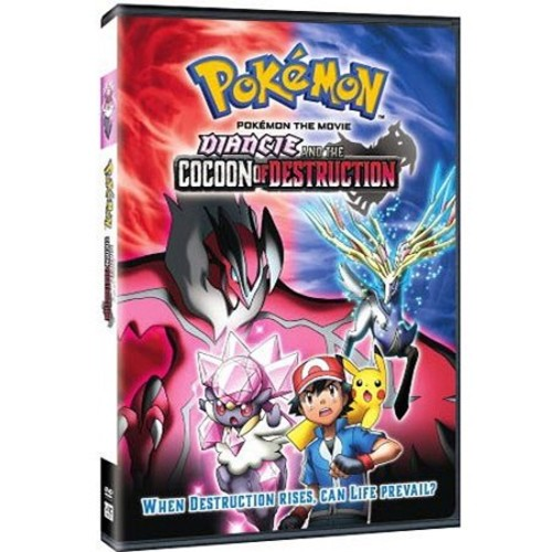 Pokemon The Movie 17: Diancie and The Cocoon of Destruction (DVD)