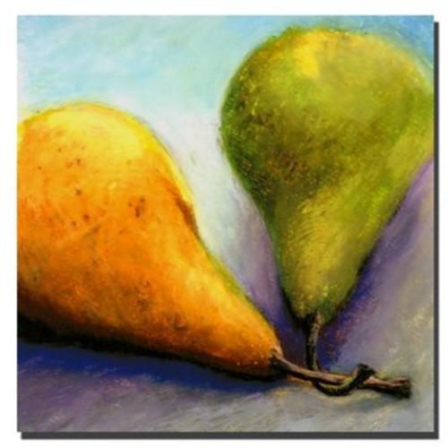 Trademark Fine Art Michelle Calkins 'Stems' Canvas Art 18x18 Inches