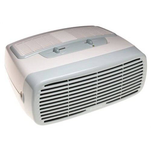 Holmes Small Room 3-Speed HEPA Air Purifier with Optional Ionizer, White [White]