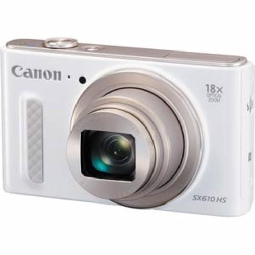 Canon PowerShot SX610 HS 20.2MP HS CMOS Camera - White