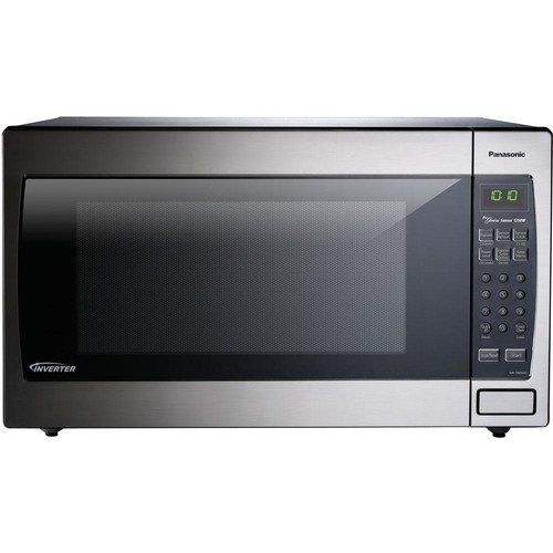 Panasonic 2.2 cu. ft. Countertop Microwave Oven in Stainless Steel Built-In Capable with Sensor Cooking Technology