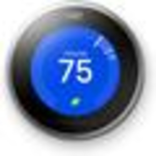 Nest Learning Thermostat, 3rd Generation (Silver) Smart learning thermostat