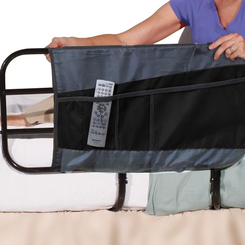 Able Life 4-Poacket Bed Rail Organizer Pouch Accessory -For Bedside Extend-A-Rail, 0.25 lb, 1 Count