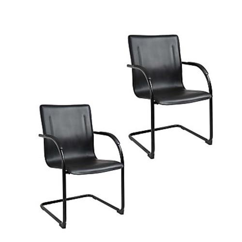 Boss Side Chair, Black/Black