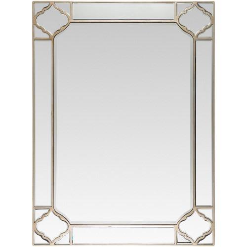 Artistic Weavers Elvin 35.4 in. x 47.2 in. Glam Framed Mirror