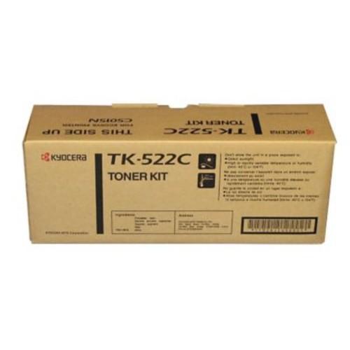 Kyocera TK522C Cyan Toner Cartridge