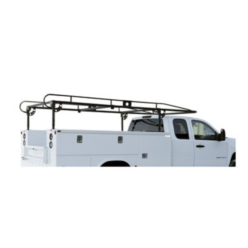 Buyers Products 1501200 Black Utility Body Ladder Rack