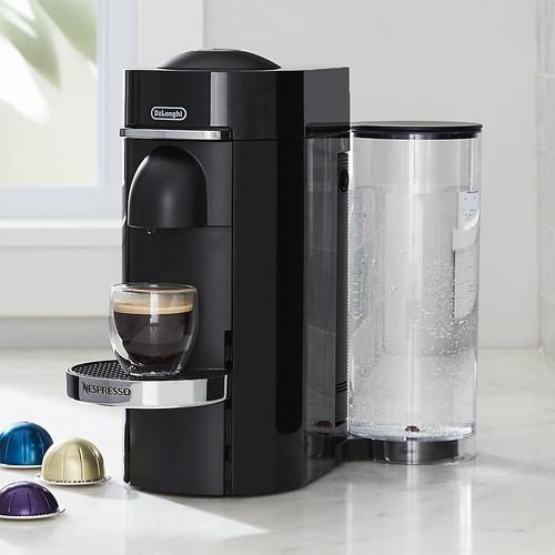 Nespresso  by Delonghi Vertuo Deluxe Plus Black Coffee Maker