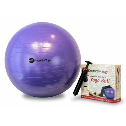 Dragonfly 55 cm Premium Anti-Burst Yoga Ball