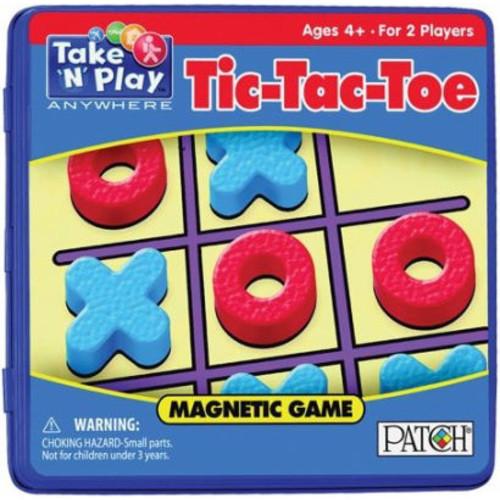 Take 'N' Play Tic-Tac-Toe Magnetic Game
