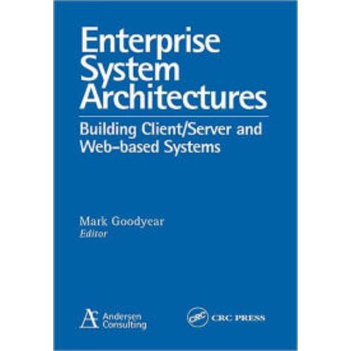 Enterprise System Architectures / Edition 1