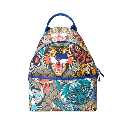 Children's GG animal faces backpack