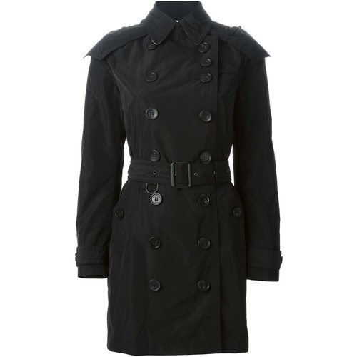 BURBERRY BRIT 'Balmoral' Belted Trench Coat