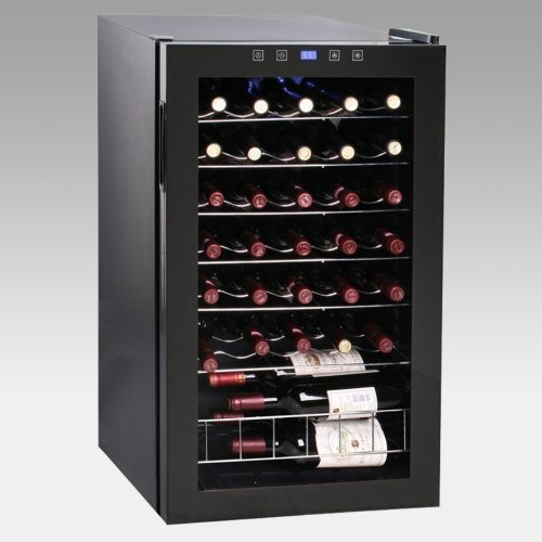 Vinotemp 34-Bottle Touchscreen Wine Cooler
