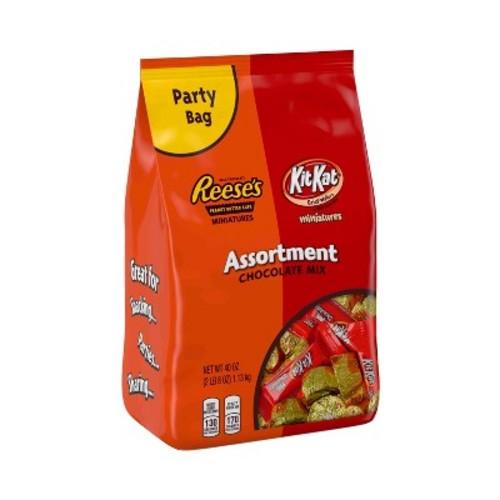 Reese's Peanut Butter Cups Miniatures & Kit Kat Minis Assortment - 40oz