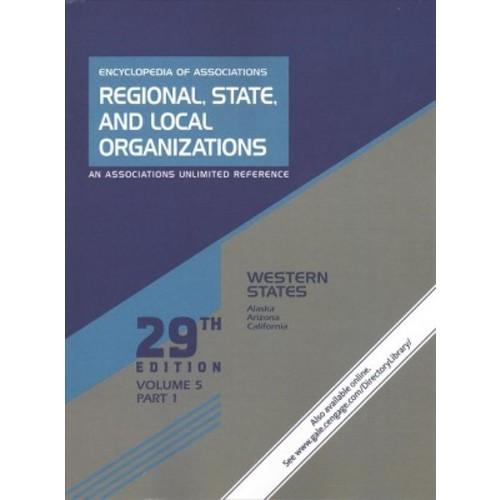 Encyclopedia of Associations : Western States (Vol 5) (Paperback) (Tara Atterberry)