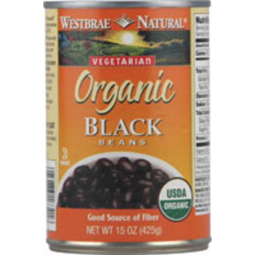 Westbrae Natural Organic Black Beans -- 15 oz