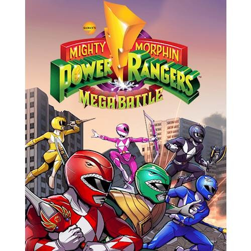 Sabans Mighty Morphin Power Rangers: Mega Battle - PlayStation 4 [Digital]