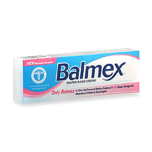 Balmex 4 oz. Zinc Oxide Diaper Rash Cream Tube