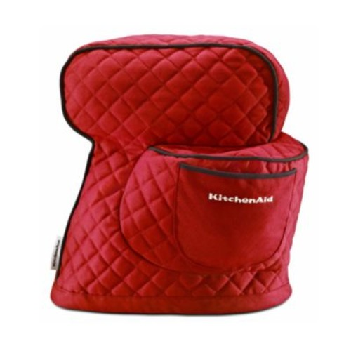 KitchenAid Fitted Cover for KitchenAid Tilt-Head Stand Mixers, Red