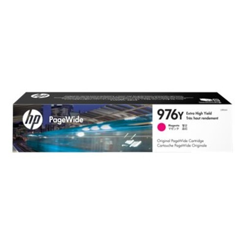 HP Inc. 976Y - Extra High Yield - magenta - original - PageWide - ink cartridge - for PageWide Pro 552dw, 577dw, 577z (L0R06A)