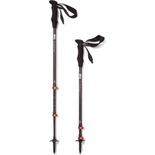 Flash Carbon Trekking Poles - Pair