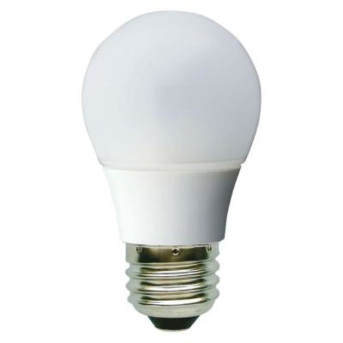 GE 40W Equivalent Daylight (5000K) A15 White Ceiling Fan Dimmable LED Light Bulb