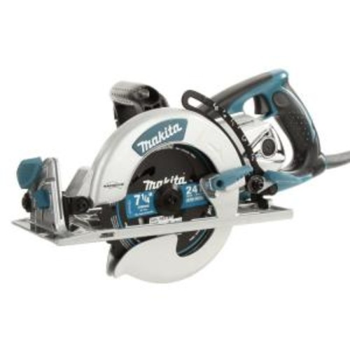 Makita 15 Amp 7-1/4 in. Corded Lightweight Magnesium Hypoid Circular Saw with built in fan and 24T Carbide blade