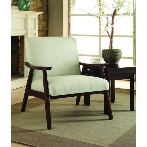 AVE SIX Davis Linen Fabric Arm Chair