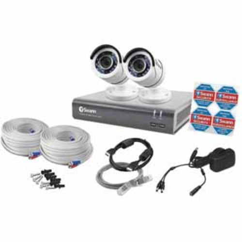 Swann 4 Channel 1080p Digital Video Recorder & 2 x PRO-T853 Cameras