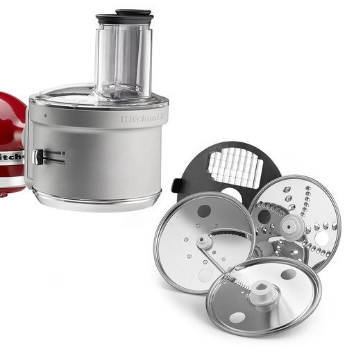 Food Processor Attachment with Commercial Style Dicing Kit #KSM2FPA