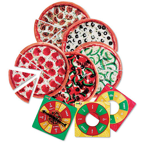 Learning Resources Pizza Fraction Fun Jr. Game [1]
