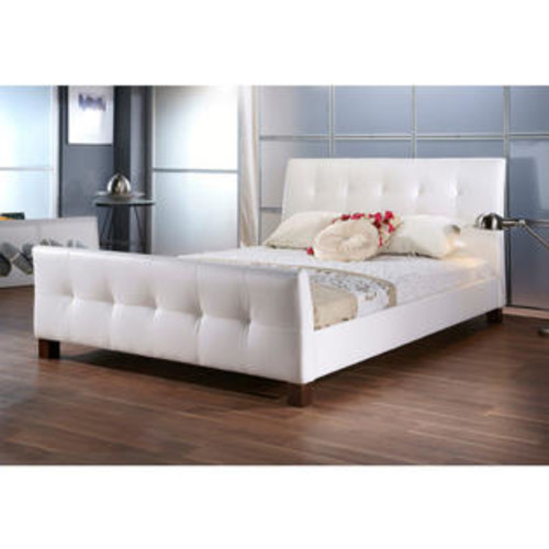 Baxton Studio Amara Modern Bed