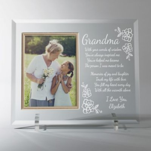 Grandma Memories 4-Inch x 6-Inch Personalized Picture Frame