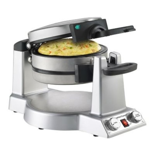 Cuisinart Non-Stick Belgian Waffle and Omelet Maker, Stainless Steel (WAF-B50)