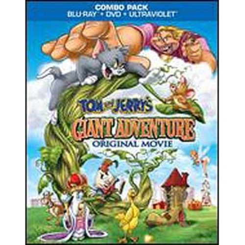 Tom and Jerry's Giant Adventure [2 Discs] [Blu-ray/DVD]