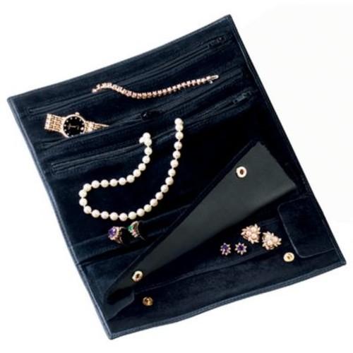 Royce Leather Jewelry Roll