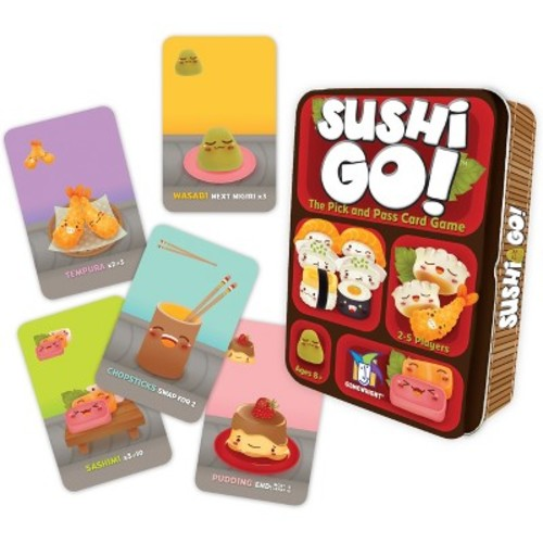 SUSHI GO New Packaging