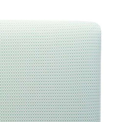 Lullaby Earth Breeze Breathable 2-Stage Crib Mattress in Blue