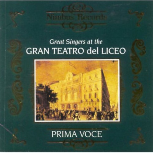 Great Singers at Gran Teatro Del Liceo