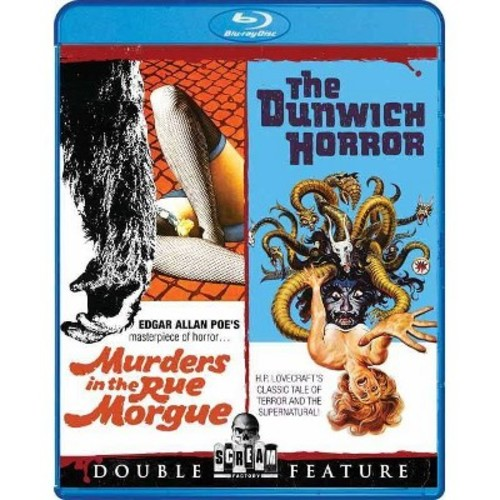 Murders In The Rue Morgue/The Dunwich Horror (Blu-ray Disc)