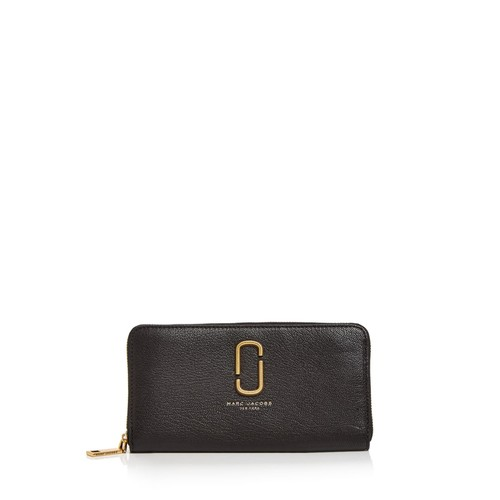 MARC JACOBS Double J Standard Leather Continental Wallet
