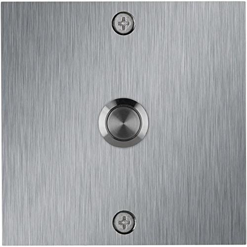 Waterwood Square Stainless Steel Doorbell