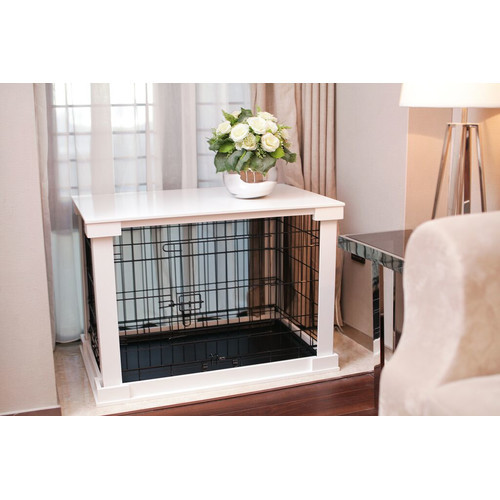 Merry Products Pet Crate End Table